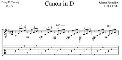 tutorial guitar canon in d classical guitar pieces 50 easy to play pieces