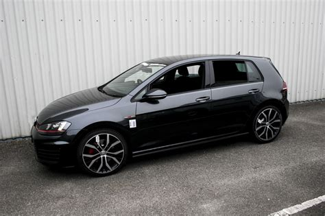 black volkswagen gti black vw golf 7 gti pixshark com images galleries