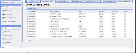 cara membuat database inventory free website sekolah php mysql