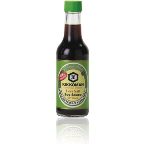 how to make beef sauce less salty kikkoman naturally brewed less salt soy sauce 250ml