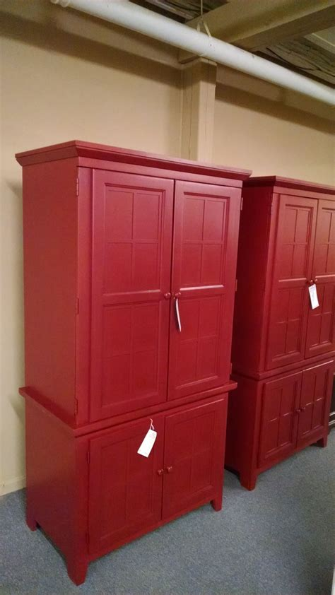 red armoire furniture red tv armoire delmarva furniture consignment
