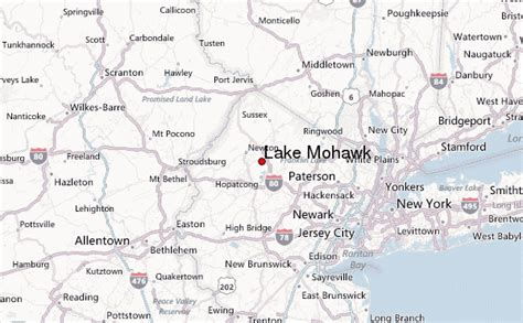 On Location The Mowhawk by Lake Mohawk Location Guide