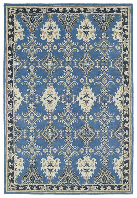 Kaleen Rugs Kaleen Middleton Mid04 17 Blue Rug
