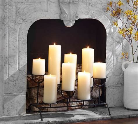 fireplace candle holder insert best 25 candle fireplace ideas on fireplace with candles decorative fireplace and