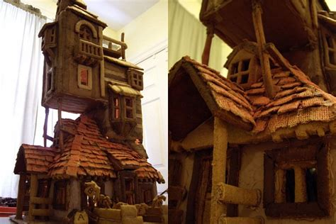 what house am i in harry potter harry potter the weasley s burrow gingerbread house