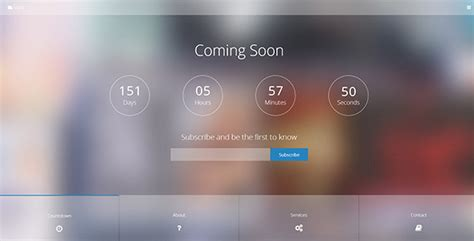 coming soon free html template 55 best responsive coming soon html templates 2015