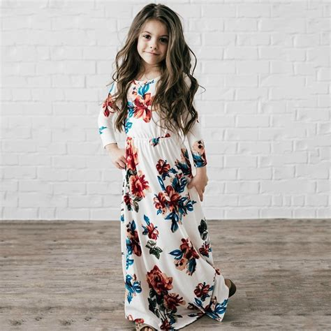 Muddy Floral Print Dresses by Flower Maxi Dresses Printed Floral Dress
