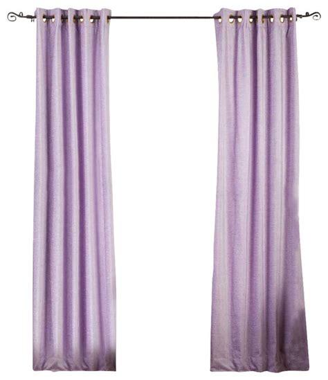 lavender window curtains lavender ring grommet top velvet curtain drape panel