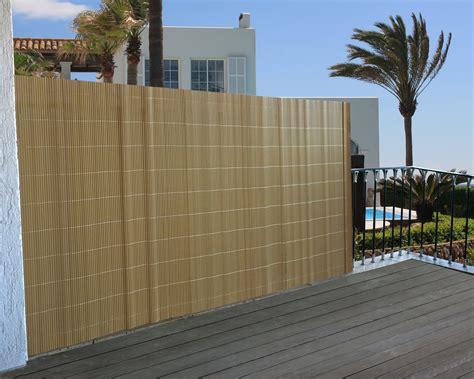 terrasse zaun sichtschutz windschutz verkleidung f 252 r balkon terrasse zaun