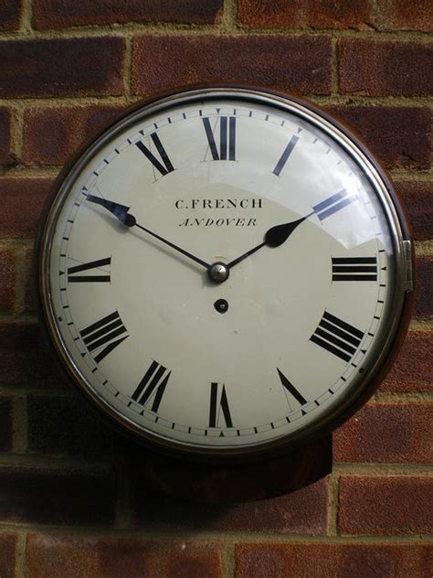 andover wall clock antiques atlas fusee wall clock