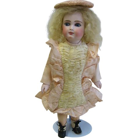 bisque doll faces antique belton type bisque doll from