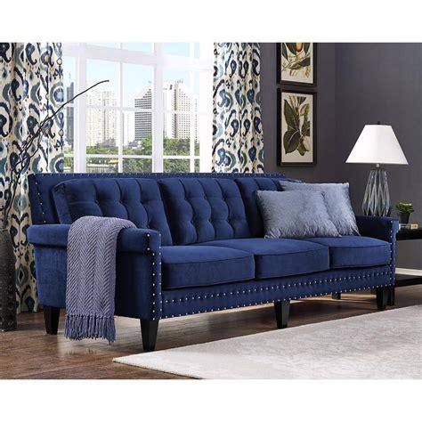 navy blue velvet sofa 1000 ideas about blue velvet sofa on velvet