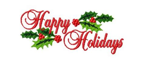 Happy Holidays Clipart - Clipart Suggest Free Holiday Banner Clip Art
