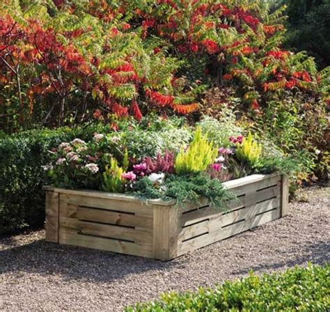 diy flower bed 14 pallet projects for your garden this spring pioneer