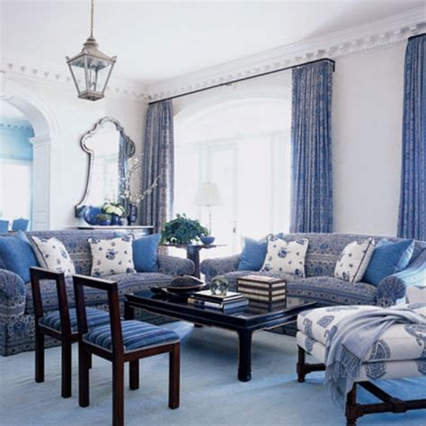 blue and white decorating ideas uncategorized blue and white living room decorating