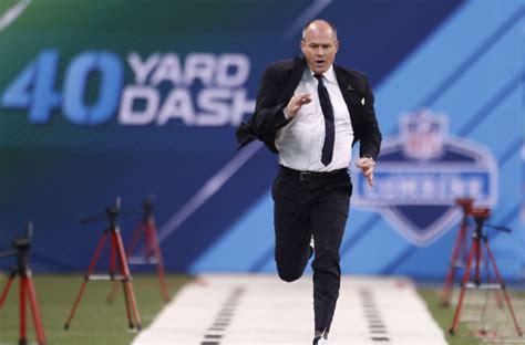 christian pulisic 40 yard dash rich eisen runs 40 yard dash at nfl combine video
