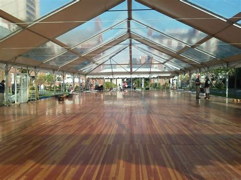 Best Flooring For Rental Event Brown Clear Top Tent Provide By Peterson Center