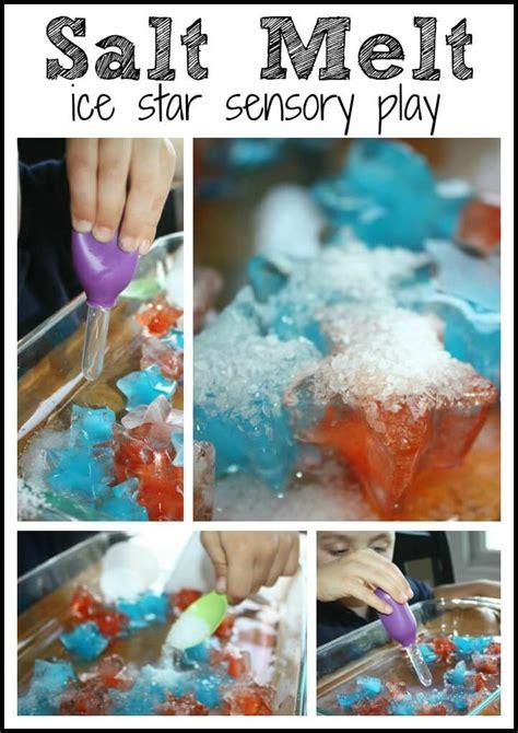 science behind salt ls 4 easy frozen stars summer science ice melt activities for