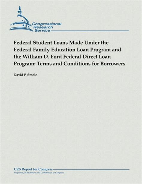William D Ford Federal Direct Loan Program by Direct Loans William D Ford Federal Program