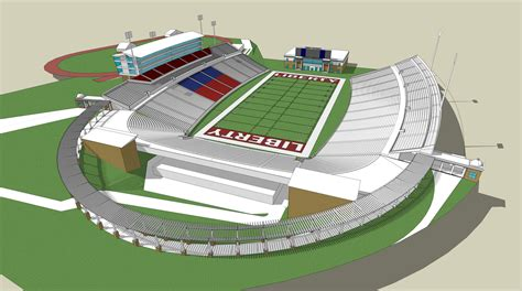 liberty vine center seating chart ath williams stadium and vines center expansion projects