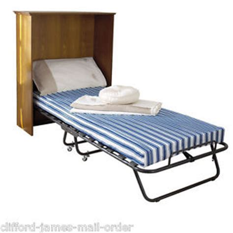 Cribs With Mattress Included Folding Single Guest Bed Cover Covers Single Beds Size W 79 X L 186 X H 38cm Ebay