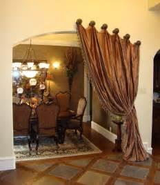 Tuscan Dining Room Drapes Simple Touch Traditional Dining Room Dallas By