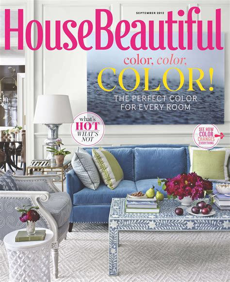 house beautiful subscription house beautiful report names blue america s favorite color