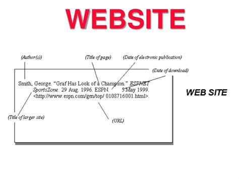 mla citations in mla citation format for websites world of