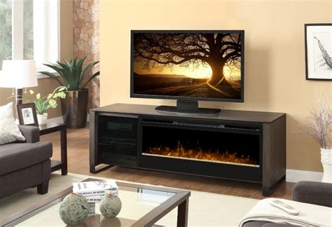 dimplex howden electric fireplace and media console with