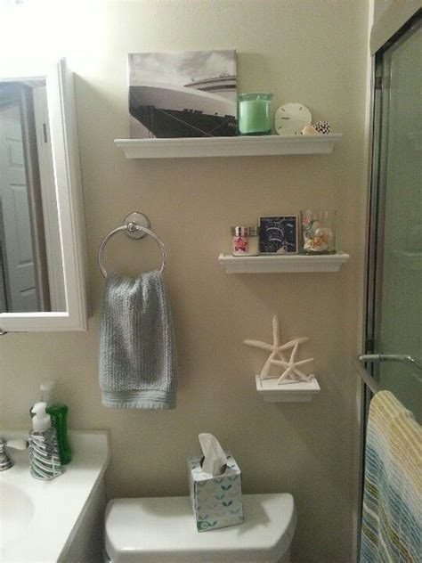 beach decor bathroom small bathroom beach decor project pinterest