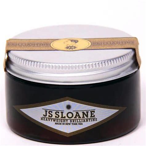 Jual Pomade Js Sloane js sloane heavyweight brilliantine pomade free uk