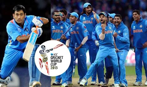 icc s world cup indian cricket team for world cup 2015 news