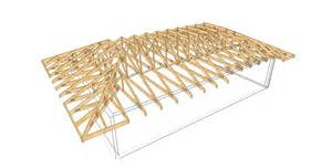 Hip Roof Truss complex 11 timber trusses truss frame construction woodcon