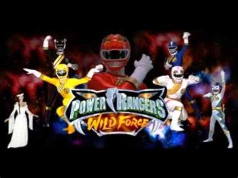 theme songs power rangers power rangers wildforce theme song youtube