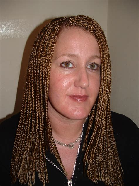 how to do feather tip box braids feather tip braids feather tip pre feathered braid