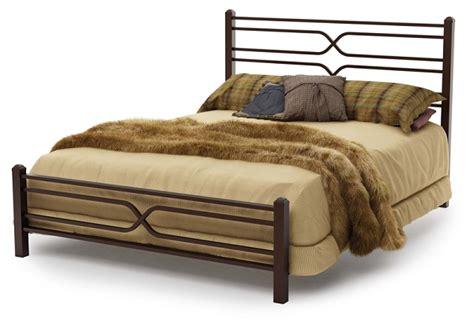 12374 60 timeless queen size metal platform bed