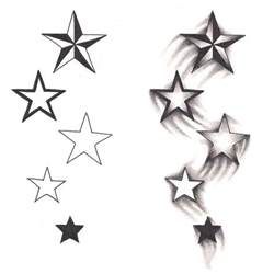 25 best ideas about star tattoos on pinterest