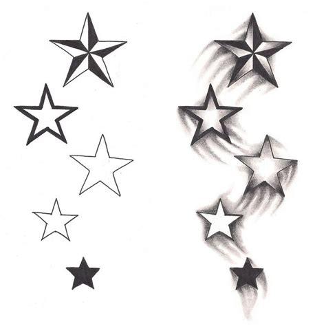 shaded star tattoo designs 76 beautiful tattoos and meaningful ideas