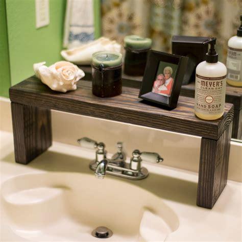 rustic shelf   sink shelf bathroom shelf