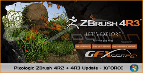 how to update zbrush 4r2 pixologic zbrush 4r2 4r3 update xforce gfxdomain blog