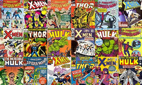 comic book pictures superheroes every marvel comic is now for sale