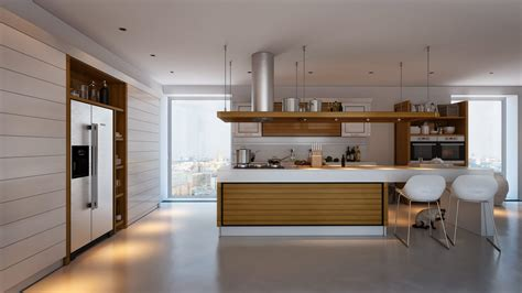 interior designers island kitchens with contrast