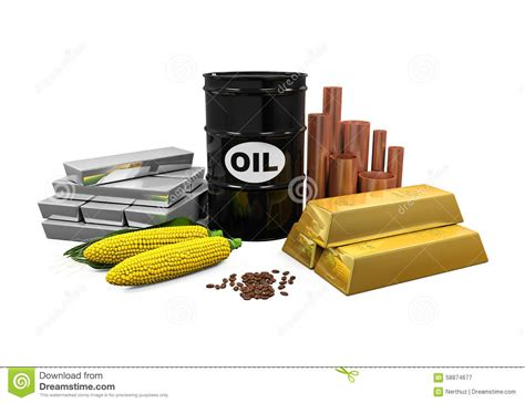 oil commodity commodities oil gold silver copper corn and coffee