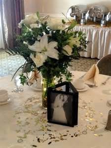 picture frame wedding centerpieces centrepieces on
