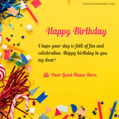 printable birthday cards with name happy birthday to you dear friend wishes image wishes