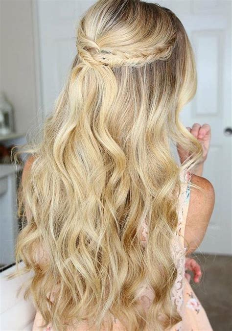 prom hairstyles down back view 75 trendy long wedding prom hairstyles to try in 2017