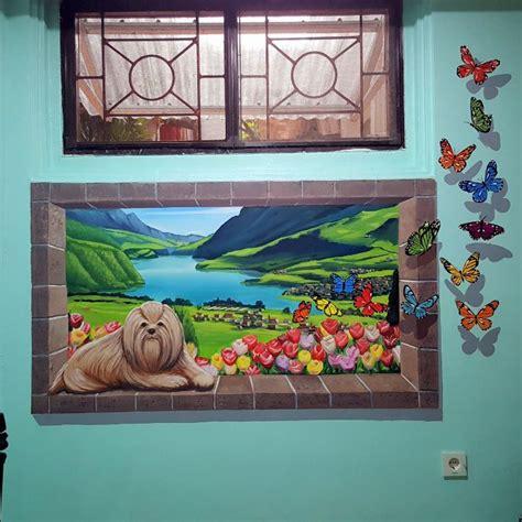 lukisan dinding  berbagai tema  berbagai kebutuhan