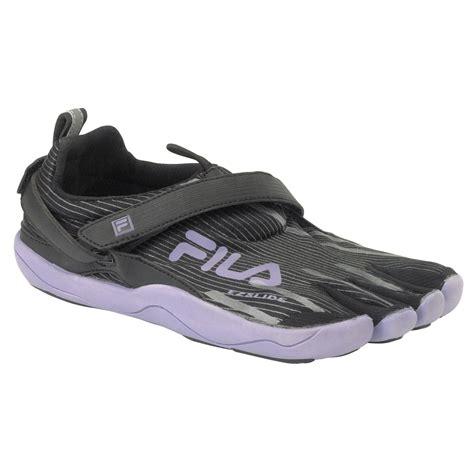 fila s running athletic shoe skele toes 2 0 black