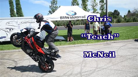 Motorrad Stunt Show Youtube by Chris Teach Mcneil At Bmw Motorcycles Cleveland Motorrad