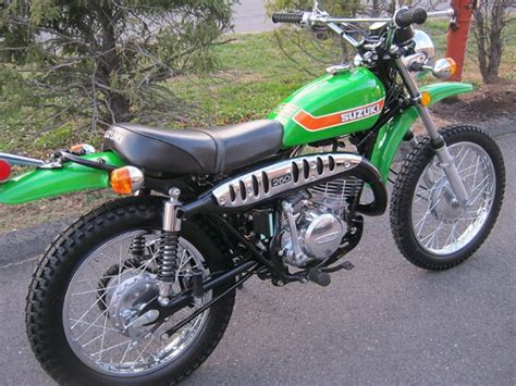Ts 250 Suzuki For Sale Green Time Machine 1973 Suzuki Ts250 Bring A Trailer